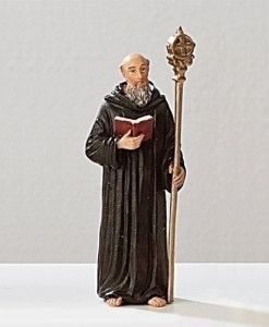 St. Benedict Figure Patrons and Protectors