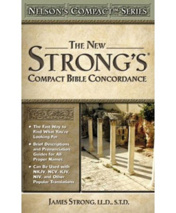 Nelson's Compact Series Compact Bible Concordance