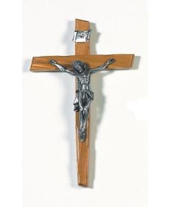 Olive Wood 9.5 inch Crucifix