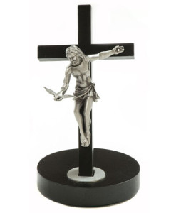 Black Gift Of The Spirit 8 inch Crucifix