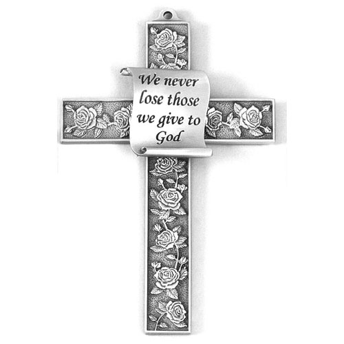 5 inch Pewter Wall Cross