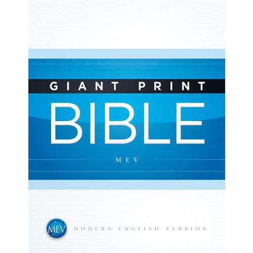 MEV Giant Print Bible