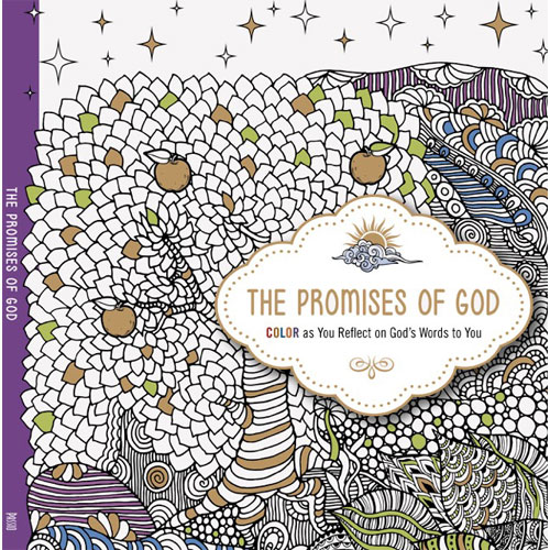 The Promises of GOD Adult Colouring Book