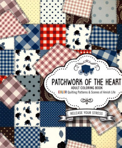 Patchwork of the Heart Adult Coloring Book