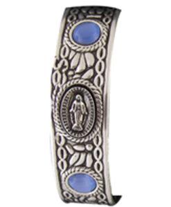 Bracelet Miraculous Medal Cuff