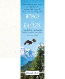 Wings of Eagles Isaiah 40:31 Bookmark