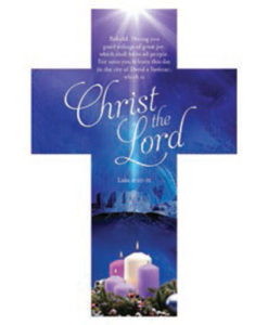 Christmas Bookmark A Child is Born CHRIST The Lord
