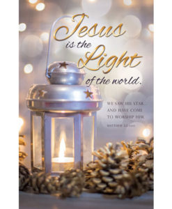 Jesus is the Light of the World Christmas 2016 Bulletin