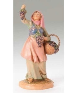 "Vineyard Worker Carmi Figure for Fontanini® 5"" Nativity Collection"