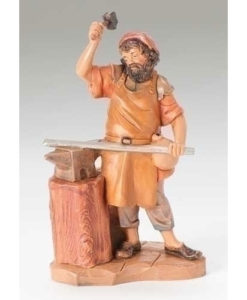 "Orion the Blacksmith Figure for Fontanini® 5"" Nativity Collection"