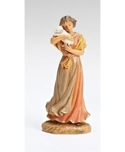 "Sheep Tender Maia for Fontanini® 5"" Nativity Collection"