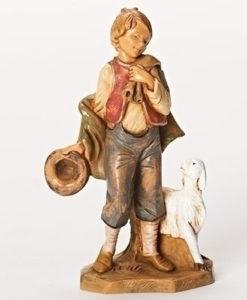 "Fontanini® 5"" Collection Lucas Little Shepherd Boy"