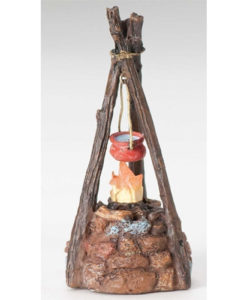 "LED Camp Fire Accessory for Fontanini® 5"" Nativity Collection"