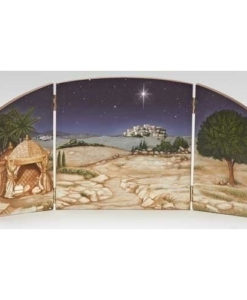 "Nativity Scene Triptych for Fontanini® 5"" Nativity Collection"
