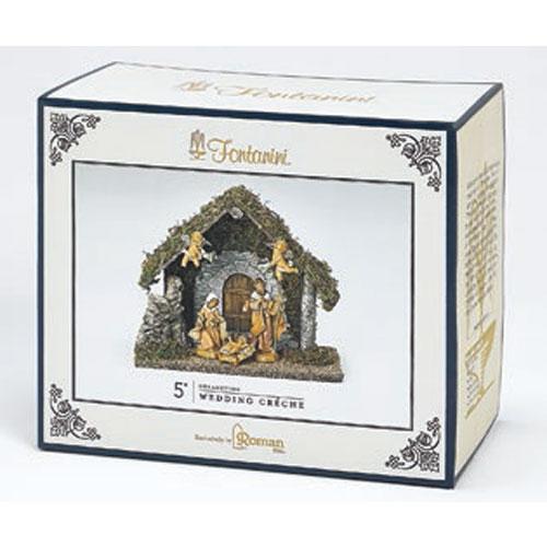 "Fontanini® 5"" Collection Wedding Gift Nativity Creche 5 pc set"