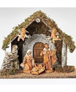 "Wedding Gift Nativity Creche Fontanini® 5"" Nativity Collection"