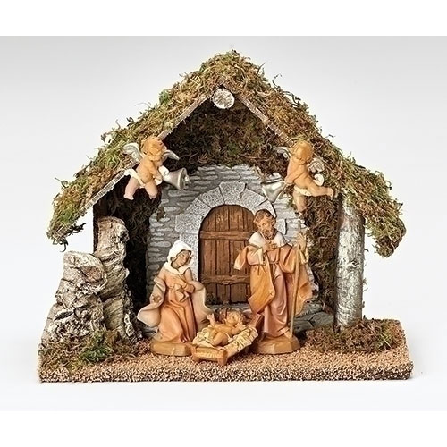 "Wedding Gift Nativity Creche Fontanini® 5"" Nativity Collection"