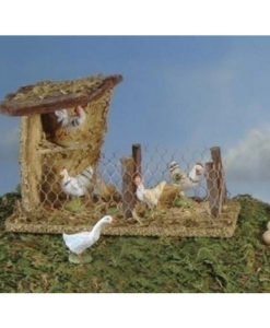 """Bird Shelter Village Building for Fontanini® 5"""" Nativity Collection"""