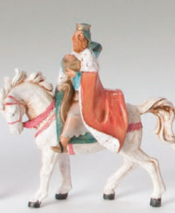 "Fontanini® 5"" Collection Melchior on Horse"