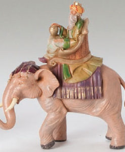 "Fontanini® 5"" Collection Gaspar on Elephant"