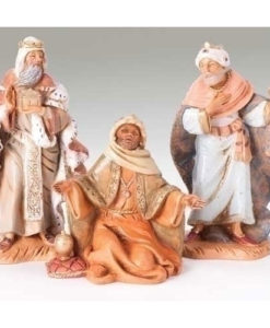 "Fontanini® 5"" Collection Three Kings Figures 3 pc set"