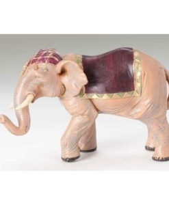 "Elephant with Saddle Blanket Figure for Fontanini® 5"" Nativity Collection"