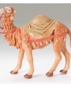 "Camel with Saddle Blanket Figure for Fontanini® 5"" Nativity Collection"