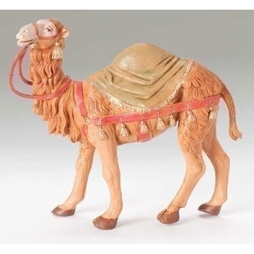 """Camel with Saddle Blanket Figure for Fontanini® 5"""" Nativity Collection"""