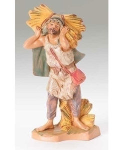 "Farmer John Villager Figure for Fontanini® 5"" Nativity Collection"