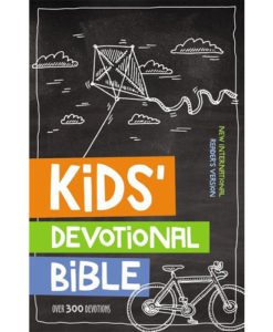 NIrV Kids' Devotional Bible Over 300 Devotions