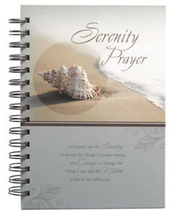 Journal Serenity Prayer