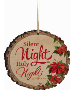 Barky Ornament Silent Night