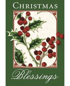 Christmas Cards 6 Designs with Scripture Box of 36 cards