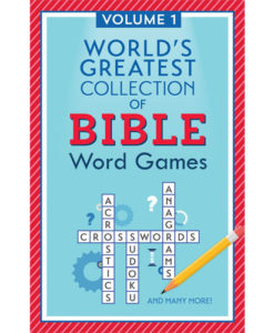 World's Greatest Collection of Bible Word Games: Volume 1