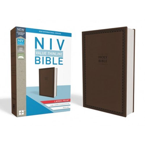 NIV Value Thinline Bible Comfort Print | Large Print