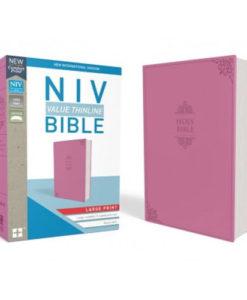 NIV Value Thinline Bible Comfort Print | Large Print