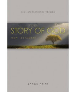 NIV | The Story of God New Testament | Large Print