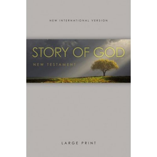 NIV | The Story of God New Testament | Large Print