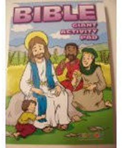 Bible Giant Coloring and Activity Book