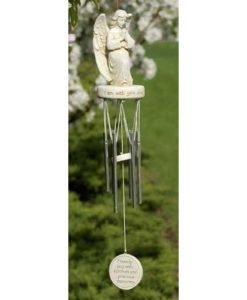Praying Angel Wind Chime