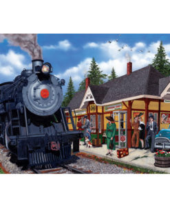 Kirkland Lake Station | 2,000 Piece Puzzle