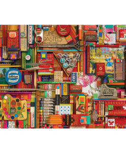 Vintage Art Supplies | 2,000 Piece Puzzle