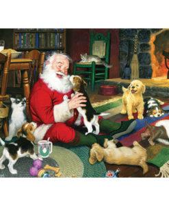 Santa's Playtime   1,000 Piece Puzzle