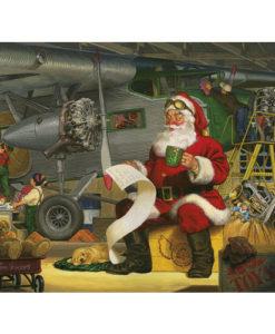 Santa's Checklist   500 Piece Puzzle
