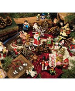 Christmas Ornaments   275 Piece Puzzle