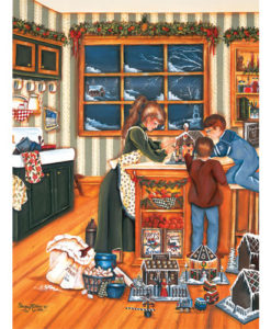 Gingerbread Makers   275 Piece Puzzle