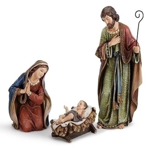 Adorned Holy Family | 3 Piece Set
