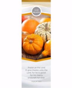 Thanksgiving We Believe Bookmark Each