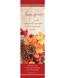 Bookmark Thanksgiving Is The Response Thanksgiving 2017