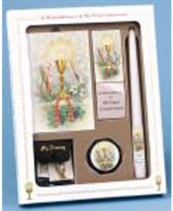 My First Mass and Holy Communion - Pray Always Edition Black Deluxe Boxed Set